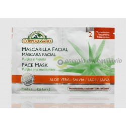 Corpore Sano Máscara Facial Aloe-Salva 15ml