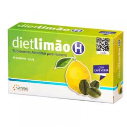 Natiris DietLimão H com Café Verde 60 Cápsulas