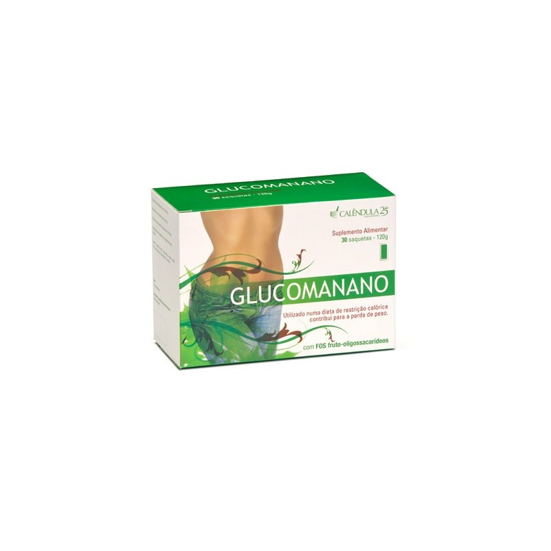 Calêndula Glucomanano 30 Saquetas