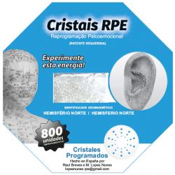 Cristais RPE programados 800 unidades