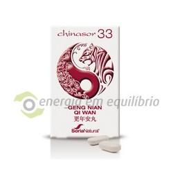 Chasor 33 - GENG NIAN QI WAN 30 comprimidos