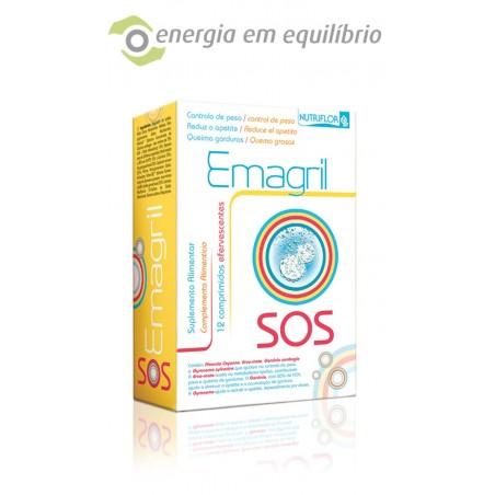 Nutriflor Emagril SOS 12 Comprimidos Efervescentes