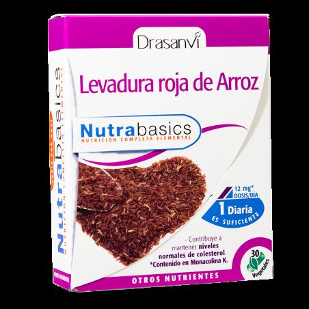 Nutrabasics – Levedura Vermelha de Arroz - 30 caps veg