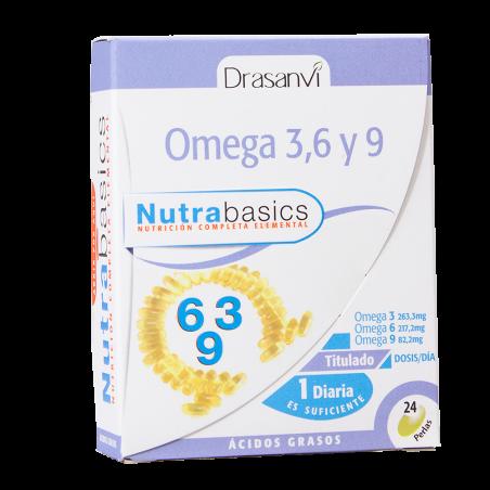Nutrabasics – Omega 3, 6 e 9 - 24 caps