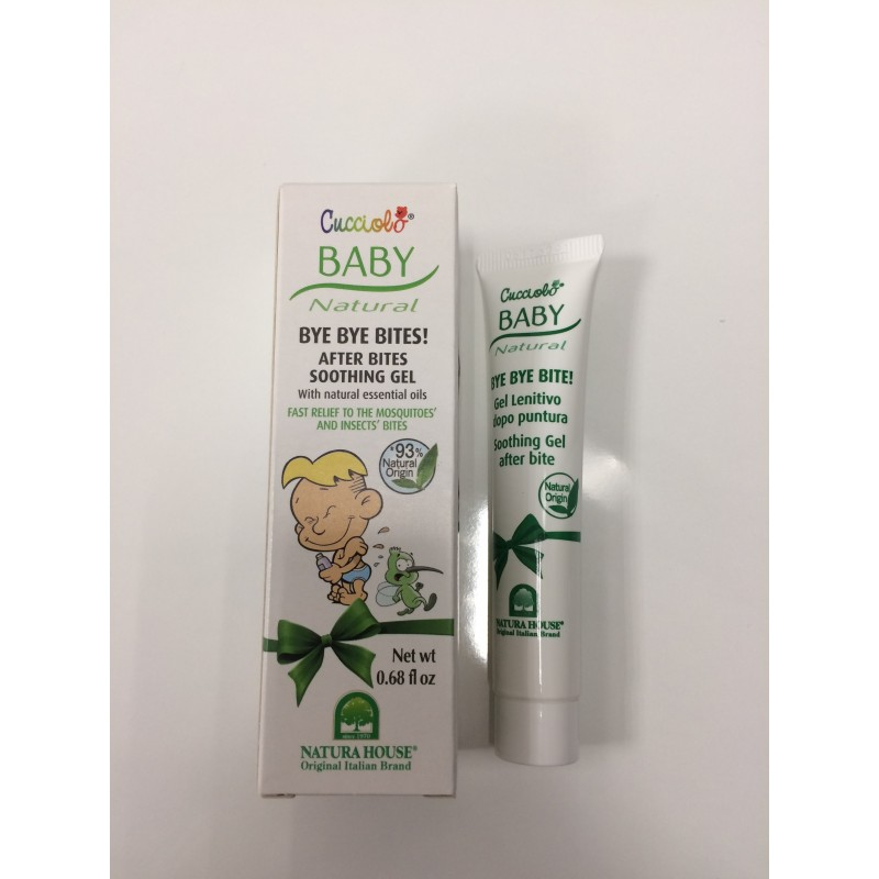 Repelente de insetos Gel 20ml Cucciolo Baby Natural