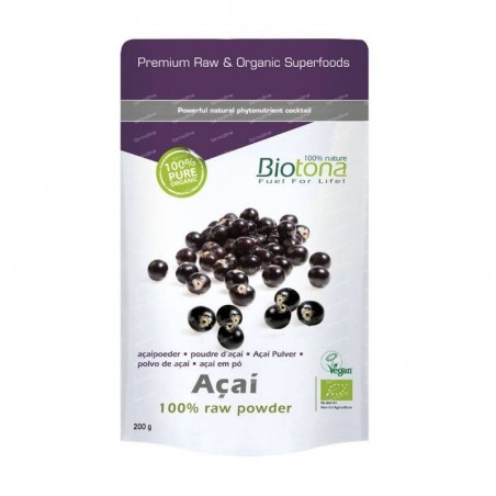 Biotona Açai 100% raw powder 200g