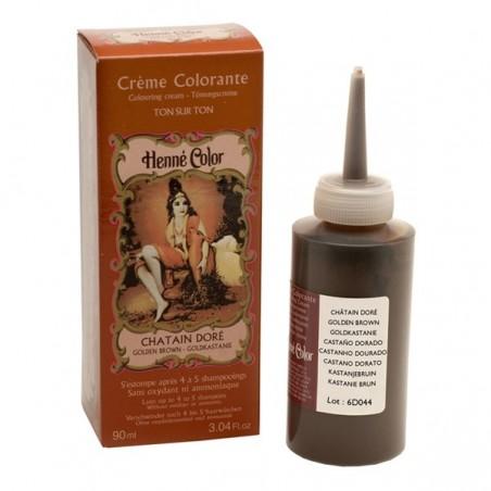 Colorante Cabelo Henne Nuance Castanho Dourado