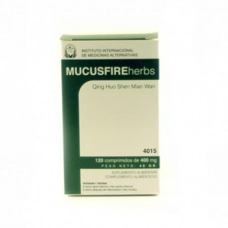 Mucusfire Herbs 120comp de 400mg IIMA