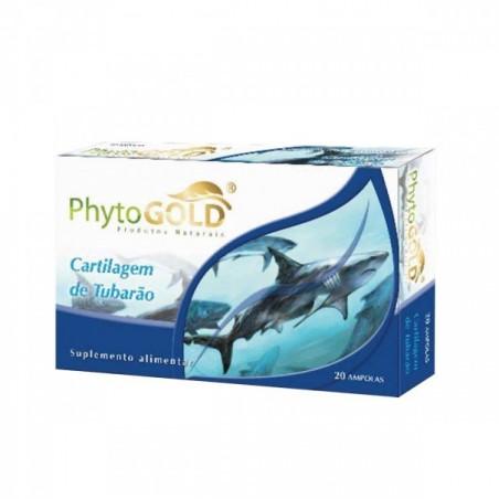 Cartilagem de tubarão 20amp de 10ml PhytoGold