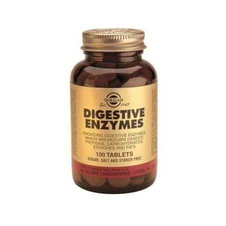 Enzimas Digestivas 100comp - Solgar
