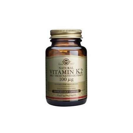 Vitamina K2 100ug - Solgar