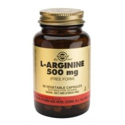 L-Arginine 500mg 50vegcaps - Solgar