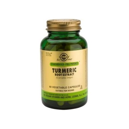 Turmeric Root Extract 60caps - Solgar