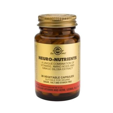 Neuro Nutrientes 60caps - Solgar