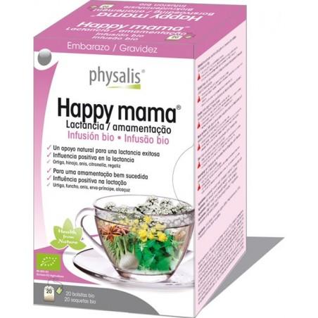 Happy Mama Infusão Bio 20 saq Physalis