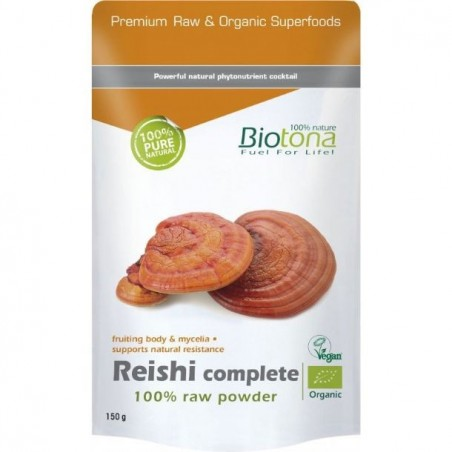 Reishi Complete Raw Power bio 150gr Biotona