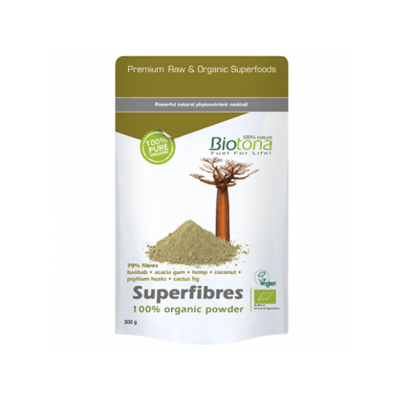 Superfibres Powder Bio 300gr Biotona