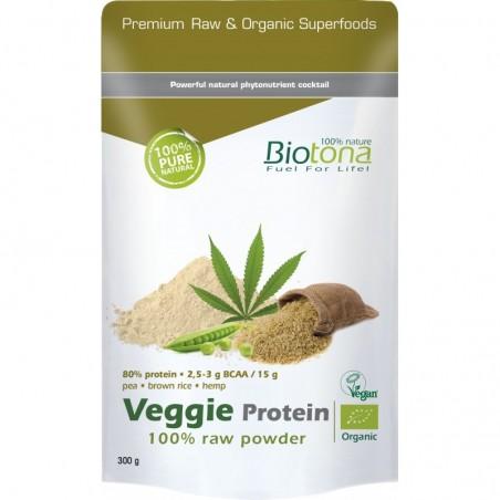 Veggie Protein Raw Powder Bio 300gr Biotona