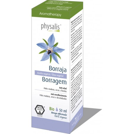 Óleo Vegetal de Borragem 50ml Physalis