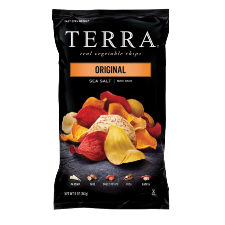 Terra Chips Mistura Exotica Vegetais 110gr