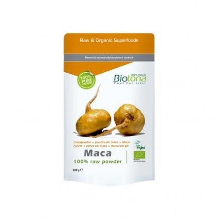 Maca Raw Powder Bio 200g Biotona