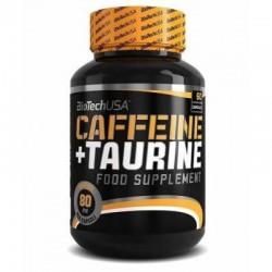 Caffeine + Taurine 60 cápsulas Biotech
