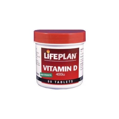 Vitamina D 400 UI (10μg) 60 comprimidos