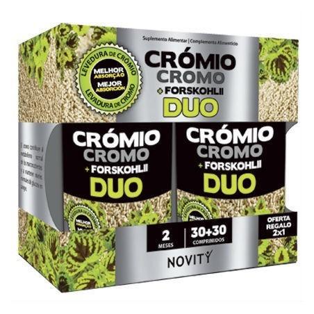 Crómio + Forskohlli Duo 30 + 30 DietMed