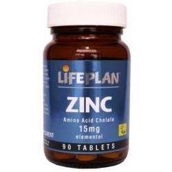 Zinco Quelado 15 mg