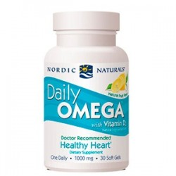 Nordic Naturals Daily Omega + Vitamina D3 30 Cápsulas