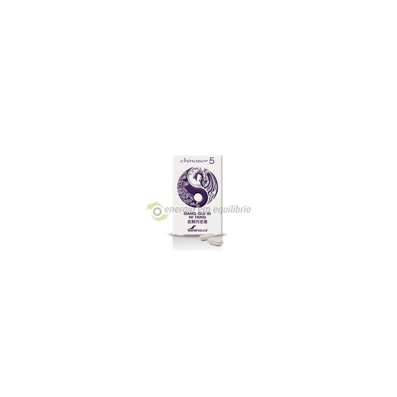 Chinasor 5 - DANG GUI SI NI TANG 30 comprimidos