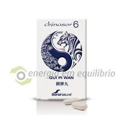 Chinasor 6 - GUI PI WAN 30 comprimidos