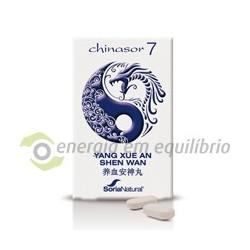 Chinasor 7 - YANG XUE AN SHEN WAN 30 comprimidos