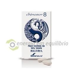 Chinasor 8 - TAO HONG SI WU WAN 30 comprimidos