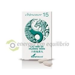 Chinasor 15 - LIU WEI DI HUANG WAN 30 comprimidos