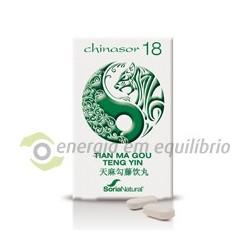 Chinasor 18 - TIAN MA GOU 30 comprimidos