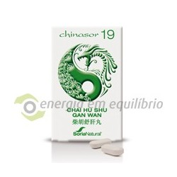 Chinasor 19 -  CHAI HU SHU GAN WAN 30 comprimidos