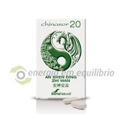 Chinasor 20 - AN SHEN DING ZHI WAN 30 comprimidos