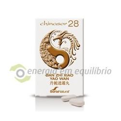 Chinasor 28 - DAN ZHI XIAO YAO WAN 30 comprimidos