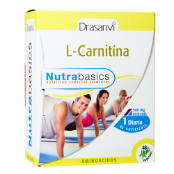 Nutrabasic L-Carnitina 48caps Drasanvi