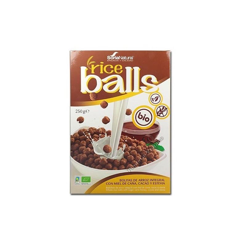 Ricers bolas de arroz c/chocolate Soria Natural