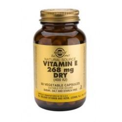 Vitamina E 400iu Dry 268mg 50veg caps