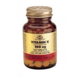 Vitamina K1 100mcg 100caps - Solgar