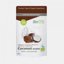 Coconut Water Raw Powder Bio 200gr Biotina