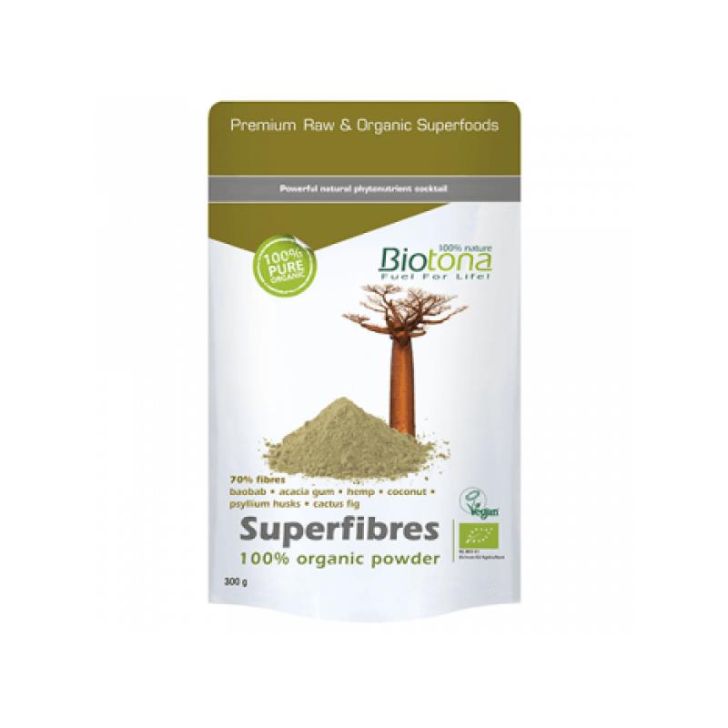 Superfibres Powder Bio 300gr Biotona
