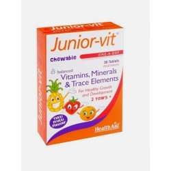 Junior-Vit 30caps Health Aid