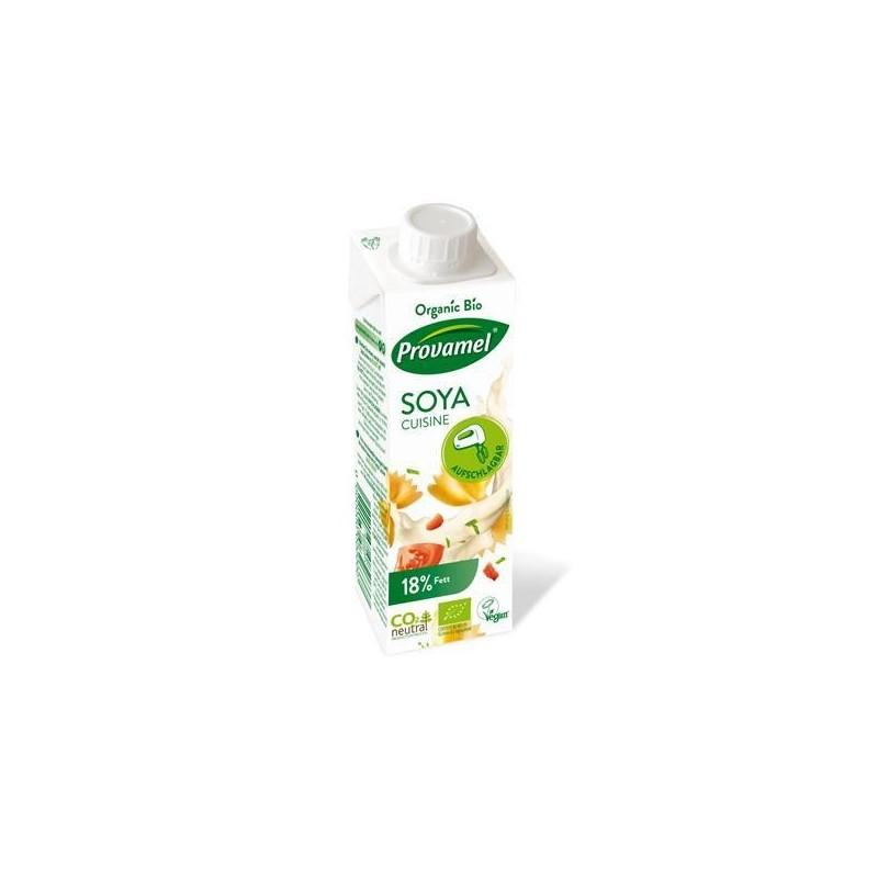 Creme de Cozinha de Soja Bio 100% vegetal 250ML Provamel