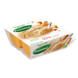 Sobremesa Soja Bio 4*125gr Caramelo Provamel