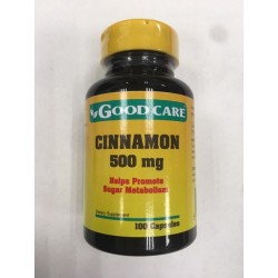 Cinnamon 500mg 100caps Good Care