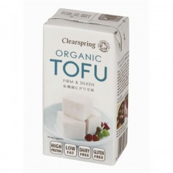 Tofu Bio Firme e Aveludado 300gr Clearspring